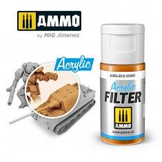 Ammo Mig Jimenez ACRYLIC FILTER Orange