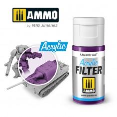 Ammo Mig Jimenez ACRYLIC FILTER Violet