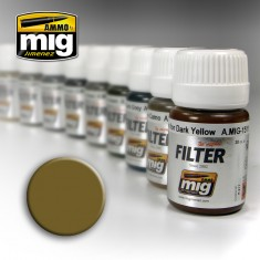Ammo Mig Jimenez Filter - Ochre for Light Sand