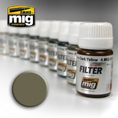 Ammo Mig Jimenez Filter - Tan for Yellow Green