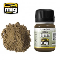Ammo Mig Jimenez Pigment -Europe Earth