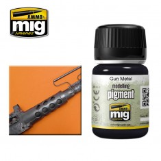 Ammo Mig Jimenez Pigment -Gun Metal