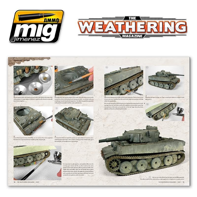 Ammo Mig Jimenez The Weathering Magazine #2, Dust