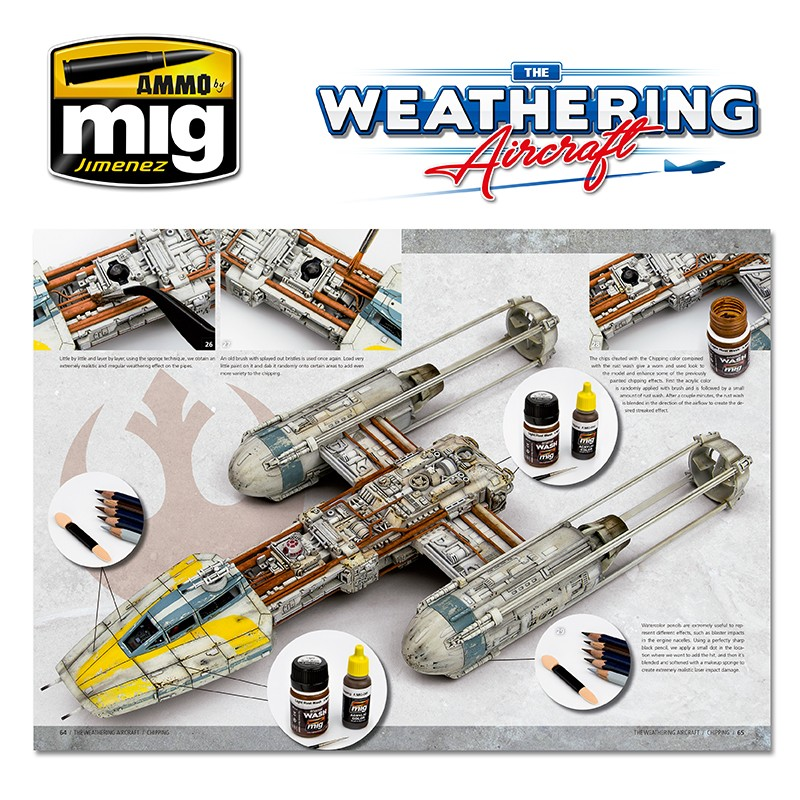 Ammo Mig Jimenez The Weathering Aircraft, Chipping