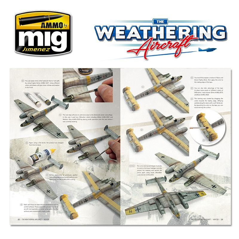 Ammo Mig Jimenez The Weathering Aircraft #6, Winter