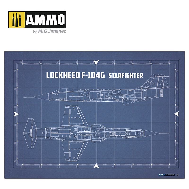 Ammo Mig Jimenez F-104G STARFIGHTER - Visual Modelers Guide
