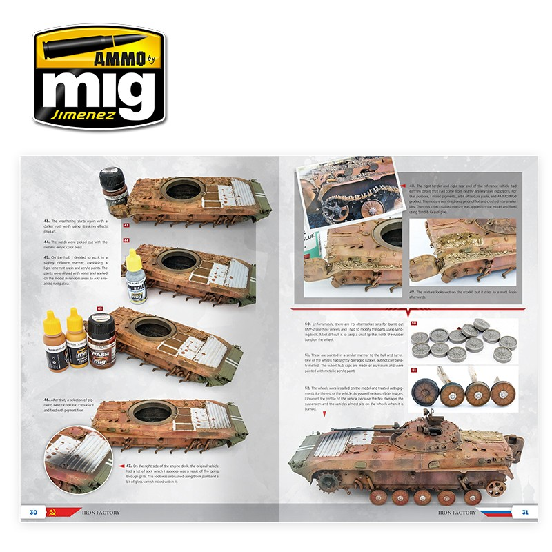 Ammo Mig Jimenez The Weathering Special: Iron Factory