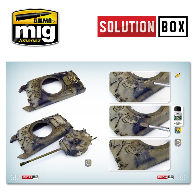 Ammo Mig Jimenez Solution Book, How to Paint WWII US ETO Vehicles