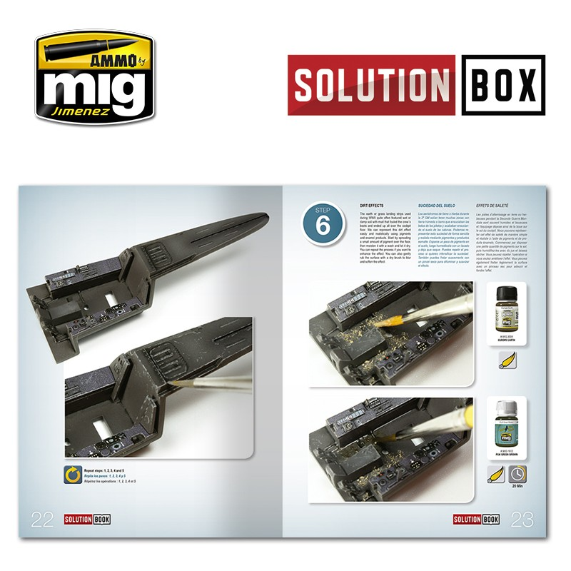 Ammo Mig Jimenez Solution Book, How to Paint WWII Luftwaffe late Fighters
