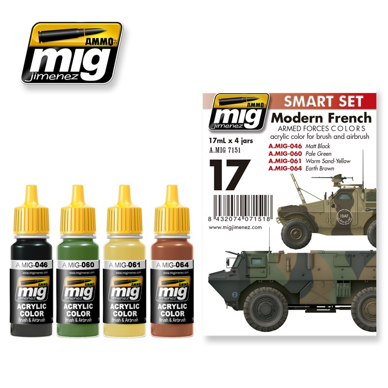 Ammo Mig Jimenez Modern French Armed Forces