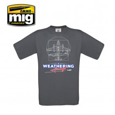 Ammo Mig Jimenez The Weathering Aircraft T-Shirt - S