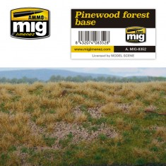 Ammo Mig Jimenez Grass Mat -Pinewood Forest Base