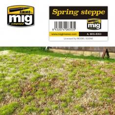 Ammo Mig Jimenez Grass Mat -Spring Steppe