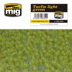 Ammo Mig Jimenez Grass Mat -Turfts Light Green