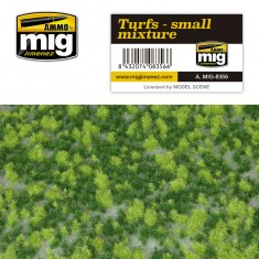Ammo Mig Jimenez Grass Mat -Turfs - Small Mixture