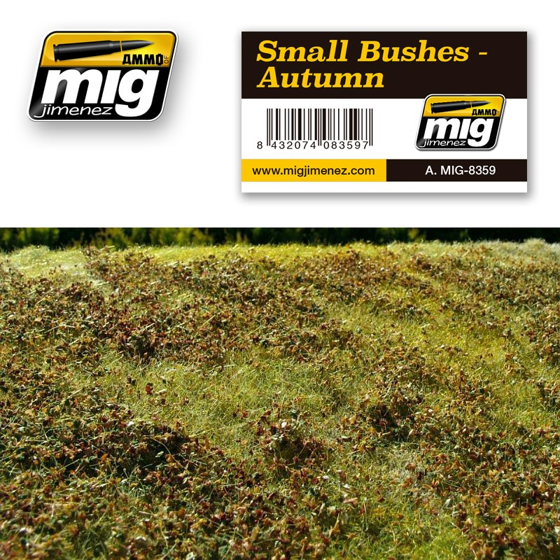 Ammo Mig Jimenez Small Bushes – Autumn