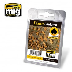 Ammo Mig Jimenez Leaves - Lime - Autumn