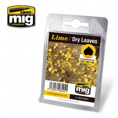 Ammo Mig Jimenez Leaves - Lime - Dry Leaves
