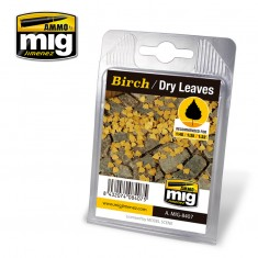 Ammo Mig Jimenez Leaves - Birch - Dry Leaves