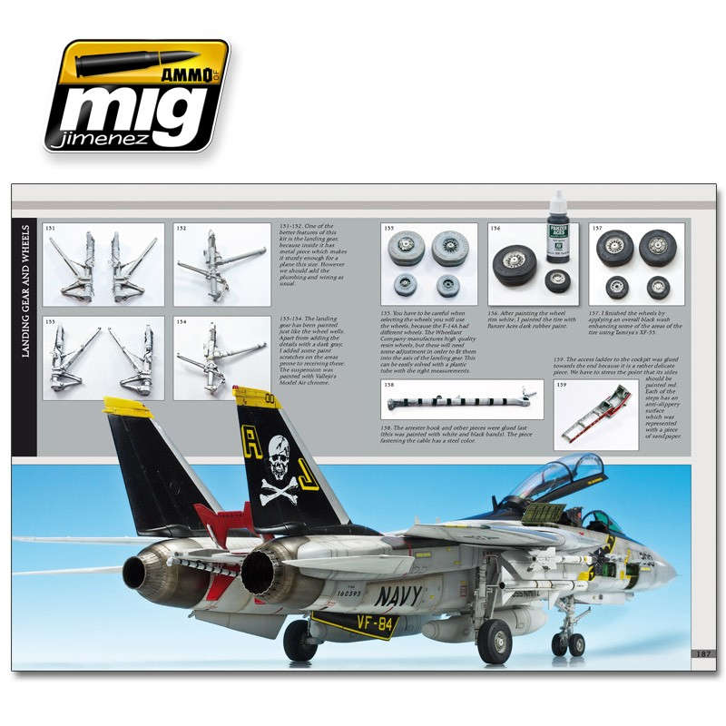 Ammo Mig Jimenez AIRPLANES IN SCALE 2: The Greatest Guide JETS