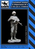Black Dog Canadian soldier in Afganistan N°1