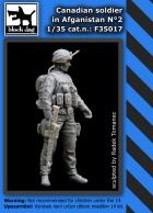 Black Dog Canadian soldier in Afganistan N°2