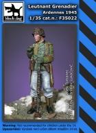 Black Dog Leutnant Grenadier Ardennes 1945