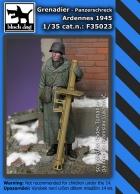 Black Dog Grenadier with Panzerschreck Ardennes 1945
