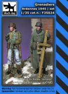 Black Dog Grenadiers Ardennes 1945 set