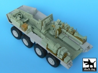 Black Dog M1126 Stryker ICV interior