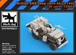 "Black Dog British SAS Jeep ""North Africa 1942"" - Detail Set"
