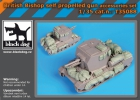 Black Dog British Bishop self propelled gun accessories set