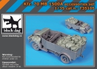 Black Dog Kfz. 70 MB 1500A accessories set