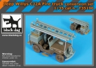 Black Dog Jeep Willys CJ2A firetruck conversion set