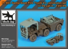 Black Dog M 561 Gama Goat Fire Truck V1 conversion set