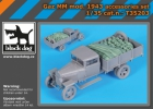 Black Dog Gaz MM mod. 1943 accessories set