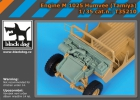 Black Dog Engine M 1025 Humvee (Tamiya)