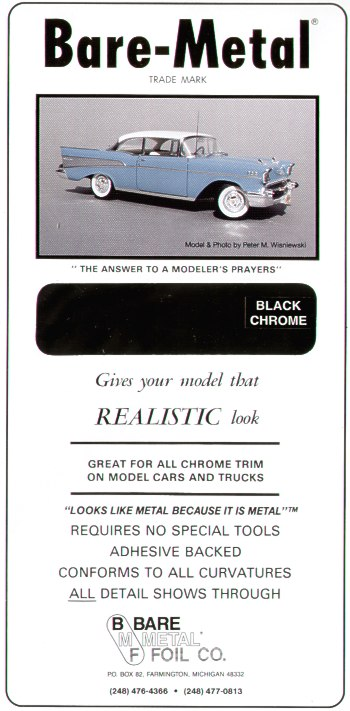 Bare Metal Foil Bare Metal Foil - Black Chrome