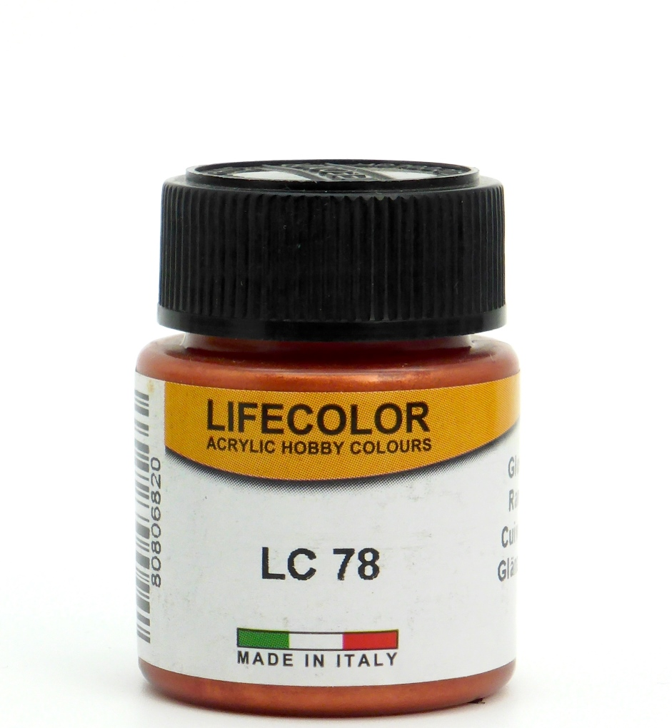 LifeColor gloss copper - 22ml
