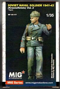 MIG Productions Soviet Naval, Soldier 1941-43