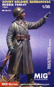 MIG Productions Soviet Soldier, Barbarossa
