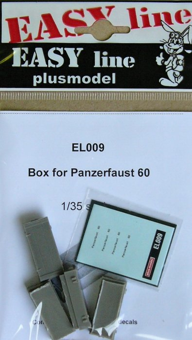 Plus Model Box for Panzerfaust 60 (4 pcs)