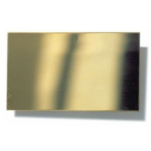 RB Model Brass sheet 20x30cm, 0,1mm