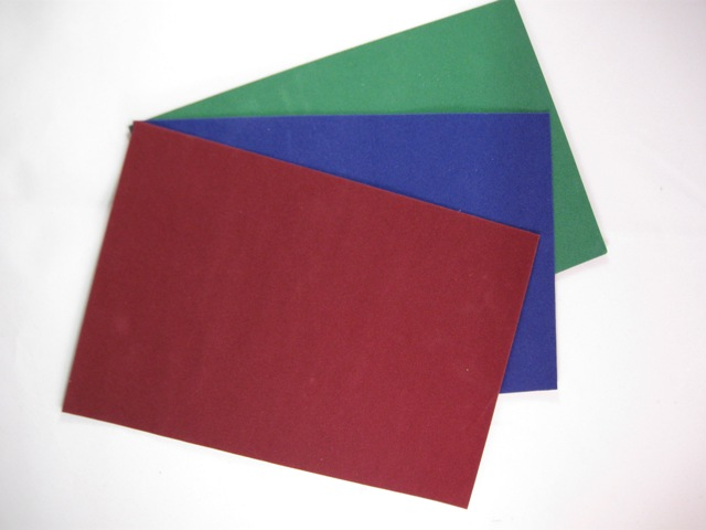 Reality in Scale Carpeting on real cloth - Set of 3 uniform colours (Dark Red - Royal Blue -