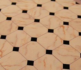 Reality in Scale Marble Flooring Design B Sheet 10x20cm