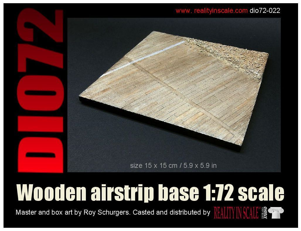 Reality in Scale Wooden Airstrip Base