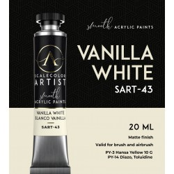 Scale75 VANILLA WHITE, 20ml