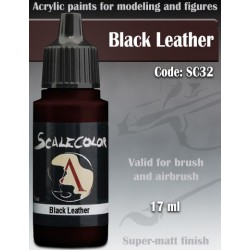 Scale75 BLACK LEATHER, 17ml