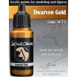 Scale75 DWARVEN GOLD, 17ml