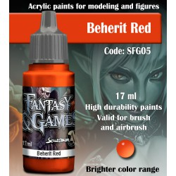 Scale75 BEHERIT RED 17 ml